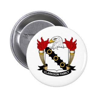 Escudo de la familia de Clarkson Pins