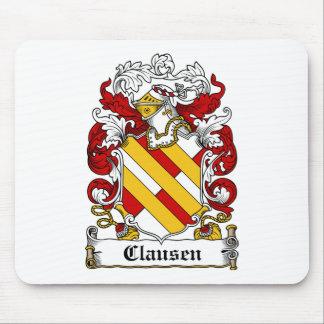 Escudo de la familia de Clausen Alfombrillas De Ratones