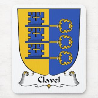 Escudo de la familia de Clavel Alfombrilla De Raton