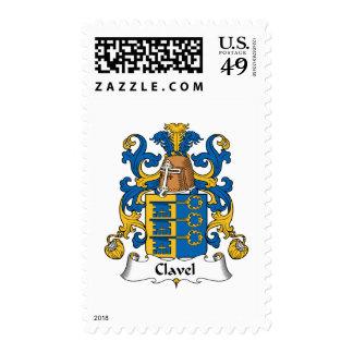 Escudo de la familia de Clavel Franqueo