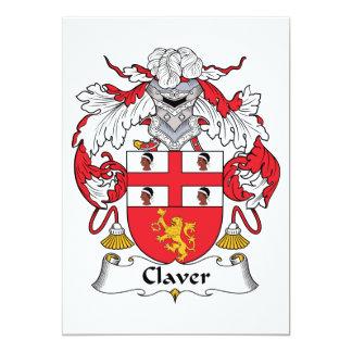 Escudo de la familia de Claver Anuncio