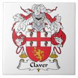 Escudo de la familia de Claver Azulejos Cerámicos