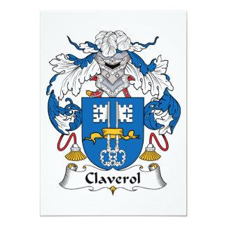 Escudo de la familia de Claverol Comunicados Personales