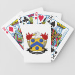 Escudo de la familia de Claypoole Baraja Cartas De Poker