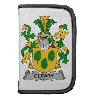 Escudo de la familia de Cleary Organizador