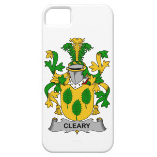 Escudo de la familia de Cleary iPhone 5 Case-Mate Cobertura