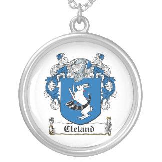 Escudo de la familia de Cleland Colgante Redondo