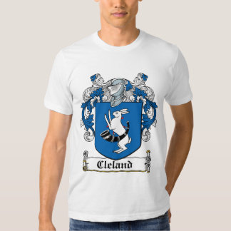 Escudo de la familia de Cleland Playera