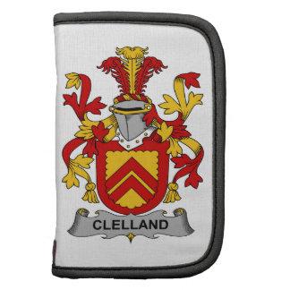 Escudo de la familia de Clelland Organizadores
