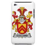 Escudo de la familia de Clelland Case-Mate iPod Touch Funda