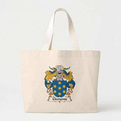 Escudo de la familia de Clemente Bolsa De Mano