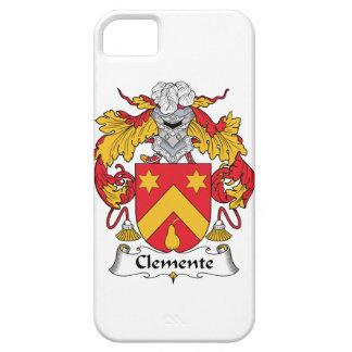Escudo de la familia de Clemente iPhone 5 Case-Mate Carcasa