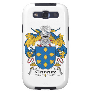 Escudo de la familia de Clemente Galaxy S3 Cárcasa