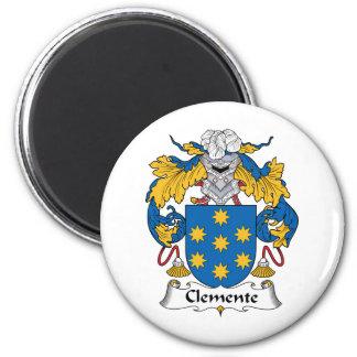 Escudo de la familia de Clemente Imán Redondo 5 Cm