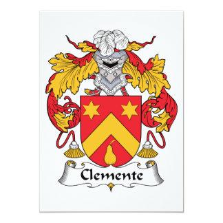 Escudo de la familia de Clemente Comunicados Personalizados