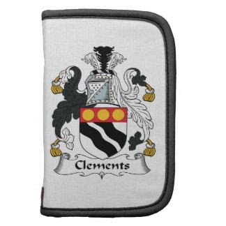 Escudo de la familia de Clements Planificadores