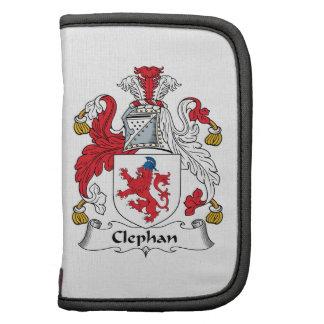 Escudo de la familia de Clephan Planificadores