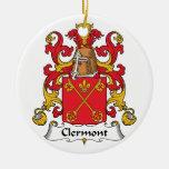 Escudo de la familia de Clermont Ornamentos De Navidad