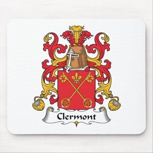 Escudo de la familia de Clermont Alfombrilla De Ratón