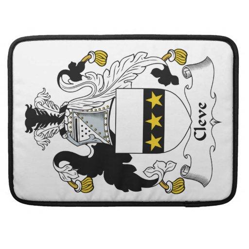Escudo de la familia de Cleve Fundas Macbook Pro