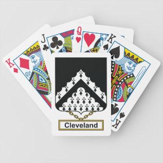 Escudo de la familia de Cleveland Baraja
