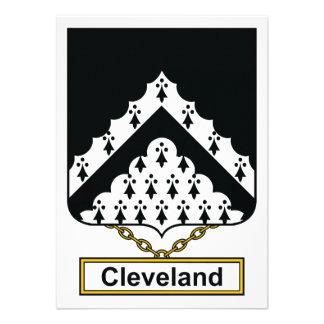 Escudo de la familia de Cleveland Comunicado