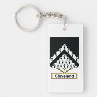 Escudo de la familia de Cleveland Llavero
