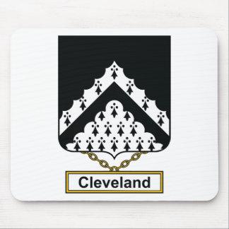 Escudo de la familia de Cleveland Tapetes De Ratón