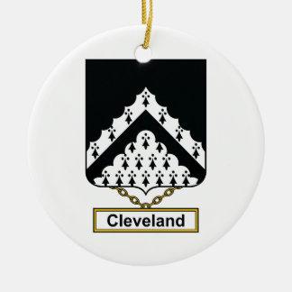 Escudo de la familia de Cleveland Ornatos
