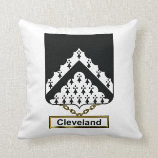 Escudo de la familia de Cleveland Almohada