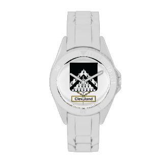 Escudo de la familia de Cleveland Reloj De Mano