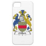 Escudo de la familia de Clifford iPhone 5 Case-Mate Protector