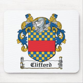 Escudo de la familia de Clifford Mouse Pad