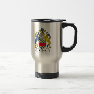 Escudo de la familia de Clifford Taza De Café