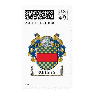 Escudo de la familia de Clifford Sellos