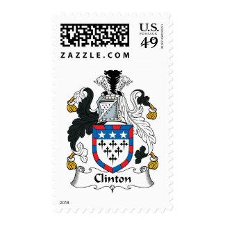 Escudo de la familia de Clinton Sello