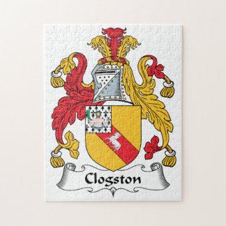 Escudo de la familia de Clogston Rompecabezas