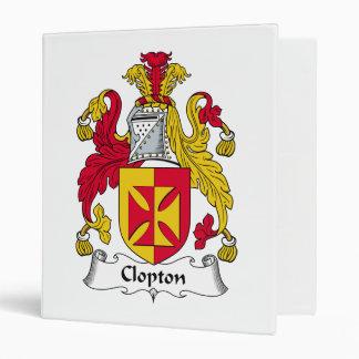 """Escudo de la familia de Clopton Carpeta 1"""""""