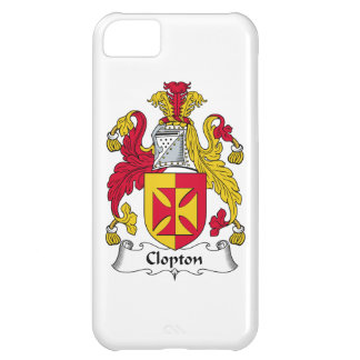 Escudo de la familia de Clopton Funda Para iPhone 5C