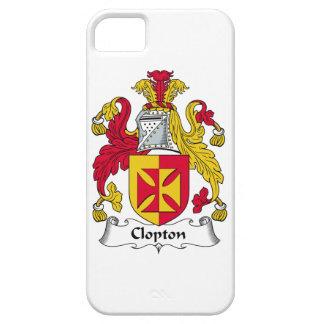 Escudo de la familia de Clopton iPhone 5 Carcasas