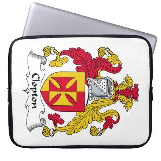 Escudo de la familia de Clopton Manga Portátil