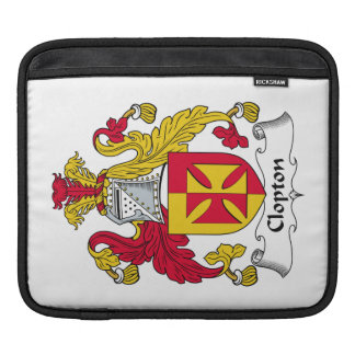 Escudo de la familia de Clopton Mangas De iPad