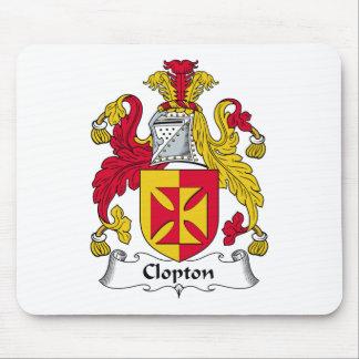 Escudo de la familia de Clopton Mouse Pad