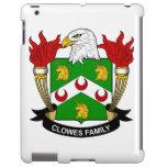 Escudo de la familia de Clowes