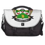 Escudo de la familia de Clowes Bolsas Para Portatil
