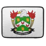 Escudo de la familia de Clowes Fundas Macbook Pro