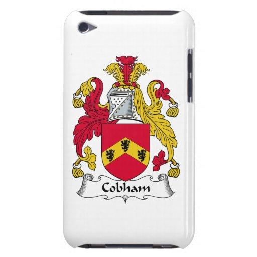 Escudo de la familia de Cobham Case-Mate iPod Touch Protector