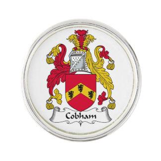 Escudo de la familia de Cobham Insignia