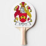 Escudo de la familia de Cobham Pala De Tenis De Mesa