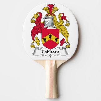 Escudo de la familia de Cobham Pala De Ping Pong